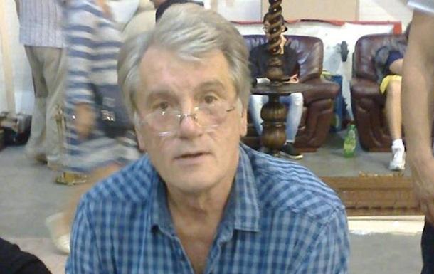 Ющенко подтвердил, что наблошином рынке сфотографировали его