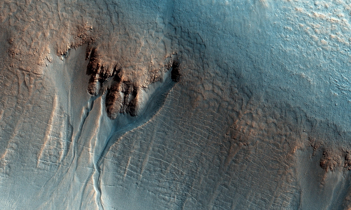 Ученые  поведали , когда наМарсе была вода