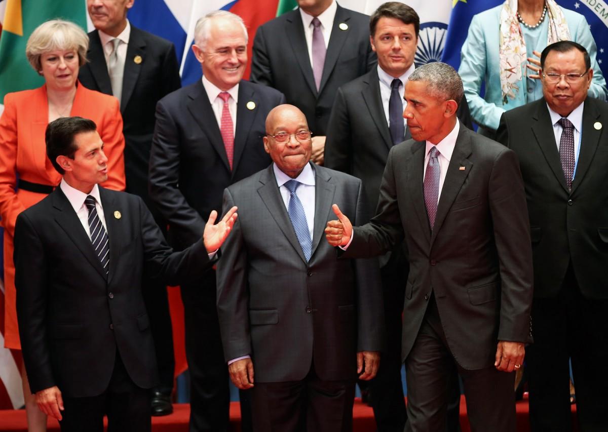 Путин иОбама непожали друг другу руки нацеремонии фотографирования G20