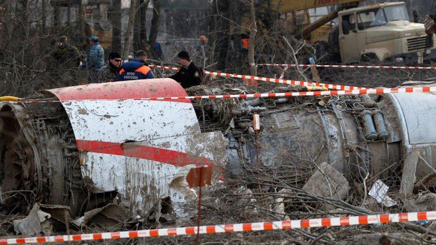 Минобороны Польши: Крушение Ту-154М Качинского под Смоленском было целью РФ
