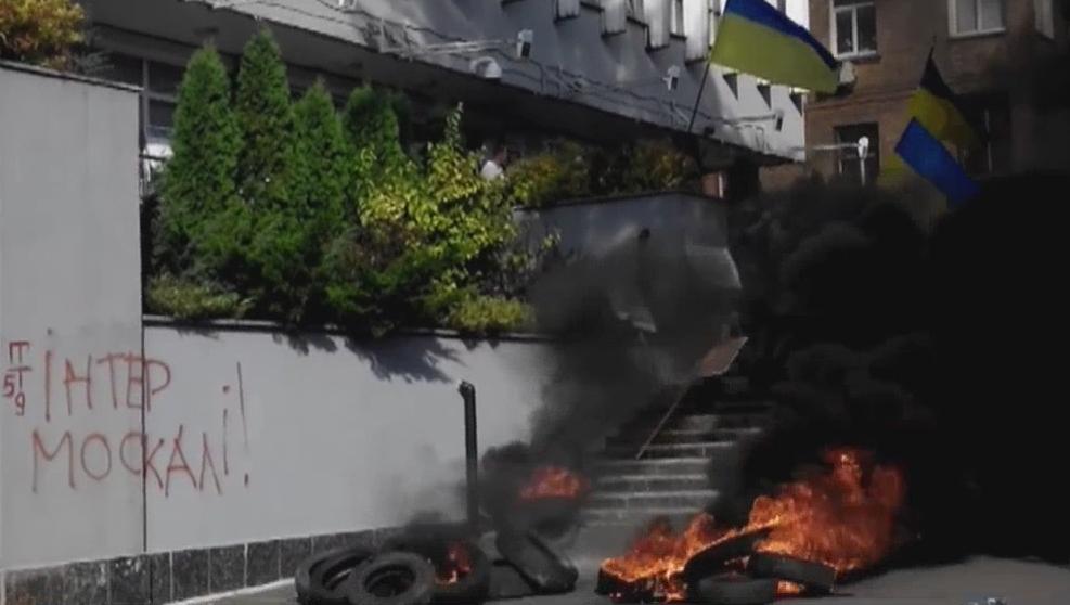 Милиция изъяла записи скамер видеонаблюдения изофиса «Интера»,— Шкиряк
