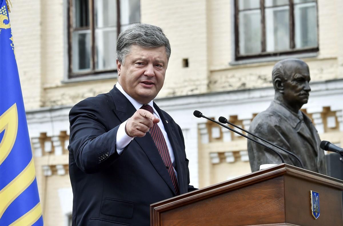 Порошенко: Проведение русских выборов натерритории государства Украины нереально