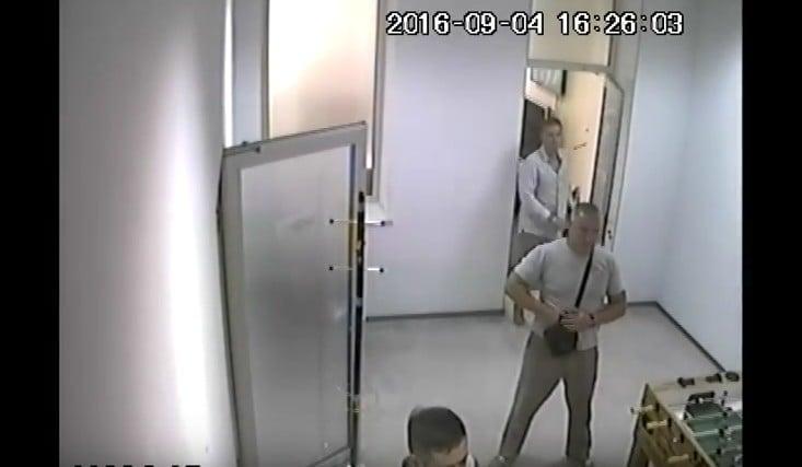 Появилось видео скамер наблюдения— Поджог Интера