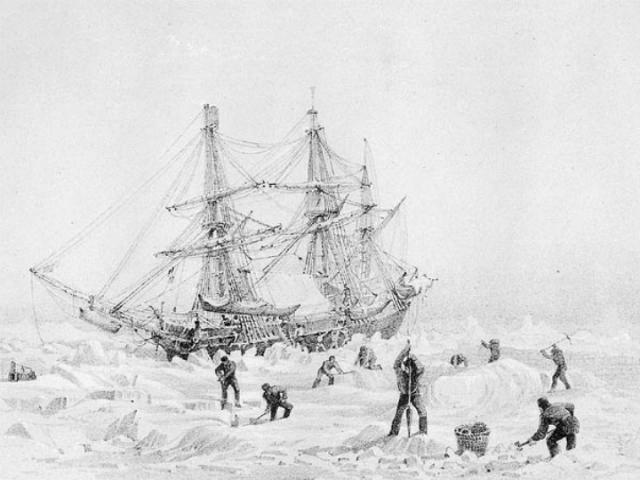 Насевере Канады отыскали пропавший 170 лет назад корабль английской арктической экспедиции