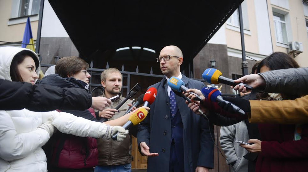 Яценюк: Янесобираюсь становиться главой НБУ