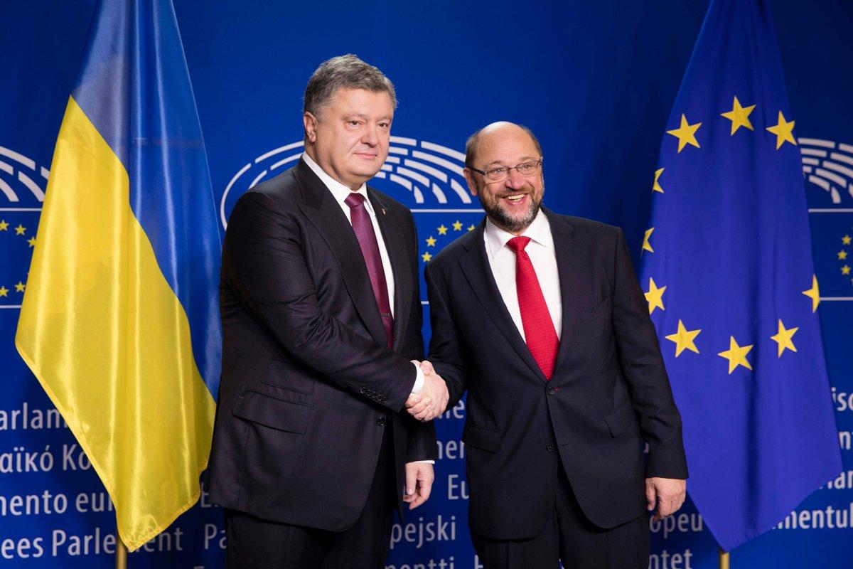 Шульц: ВЕвропарламенте есть стабильное большинство для введения безвизового режима с Украинским государством