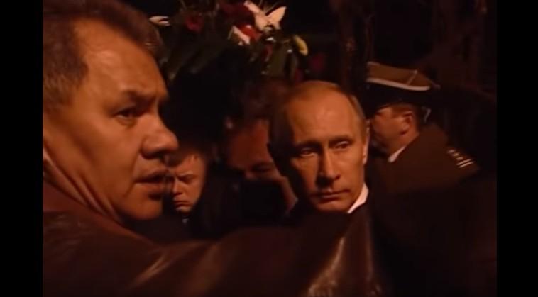 Обнародовано видео встречи Владимира Путина иТуска после крушения Ту-154 под Смоленском