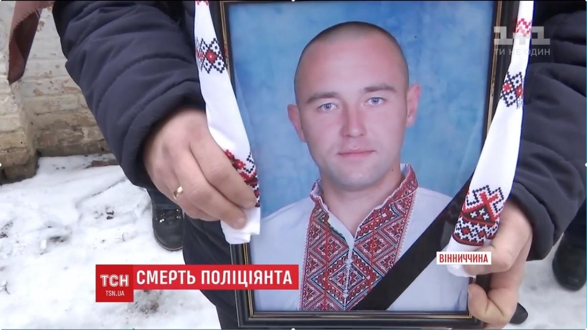 ВВинницкой области просто натерритории отделения милиции застрелился правоохранитель