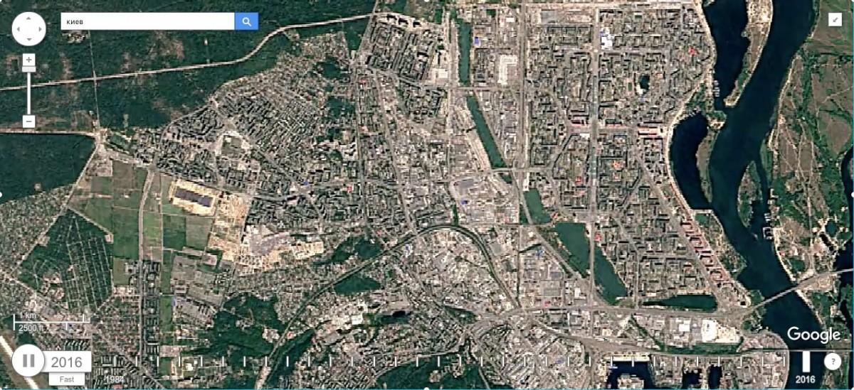 Карта оргеевский район (молдавия) - вид со спутника.