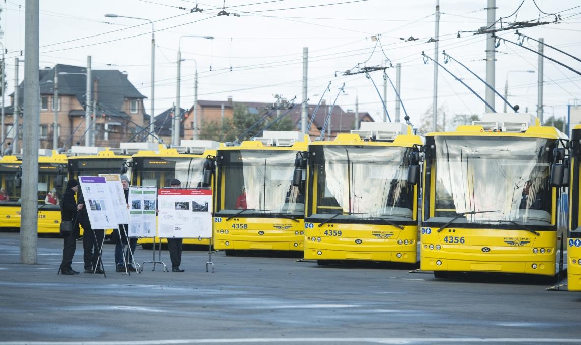 ВКиеве появятся новые троллейбусные маршруты, рекомендованные Всемирным банком