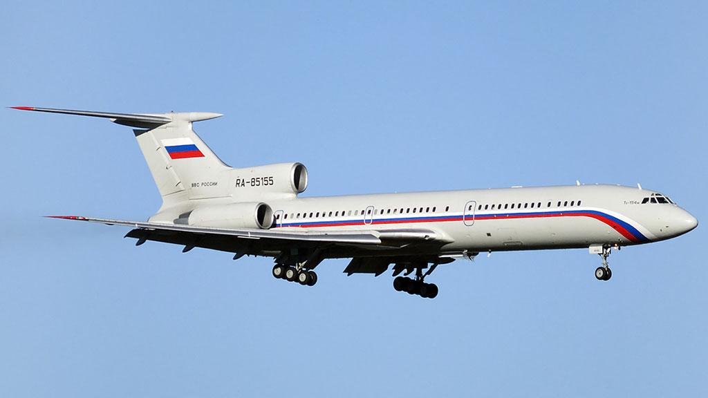 «Первый канал» назвал имена находившихся вупавшем Ту-154 служащих