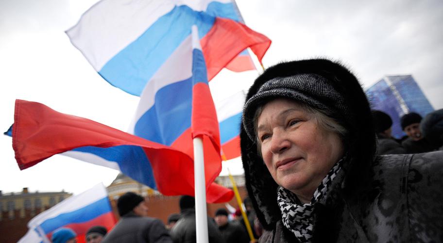 Россияне считают, что сперва была трагедия в Одессе, а уж потом аннексия Крыма