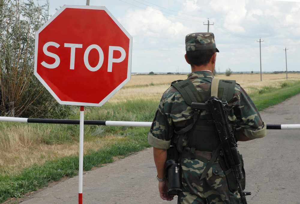 Украинские пограничники задержали разведчика «ДНР» (ВИДЕО)