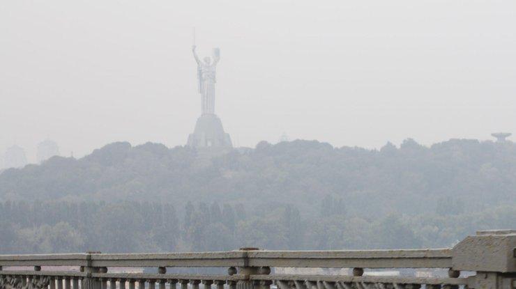Синоптики предупредили киевлян овысоком уровне загрязненности воздуха