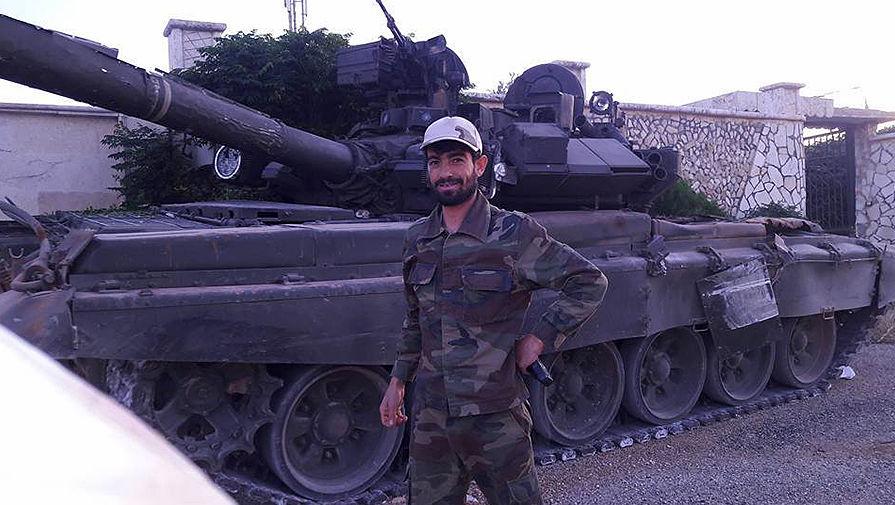 Сирийские боевики освоили захваченный российский танк Т-90