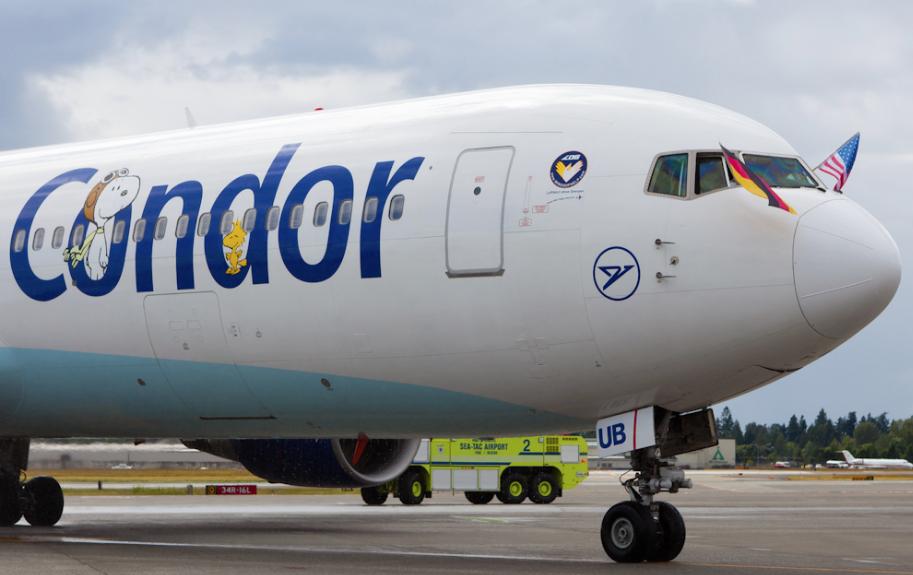 Германский лоукостер откроет рейсы изсоедененных штатов в Украинское государство