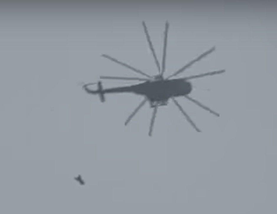 Поступило сообщение о новой химатаке в Сирии (видео)
