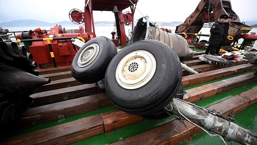 Названа причина крушения Ту-154 Минобороны РФ - самолет разбился из-за перегруза