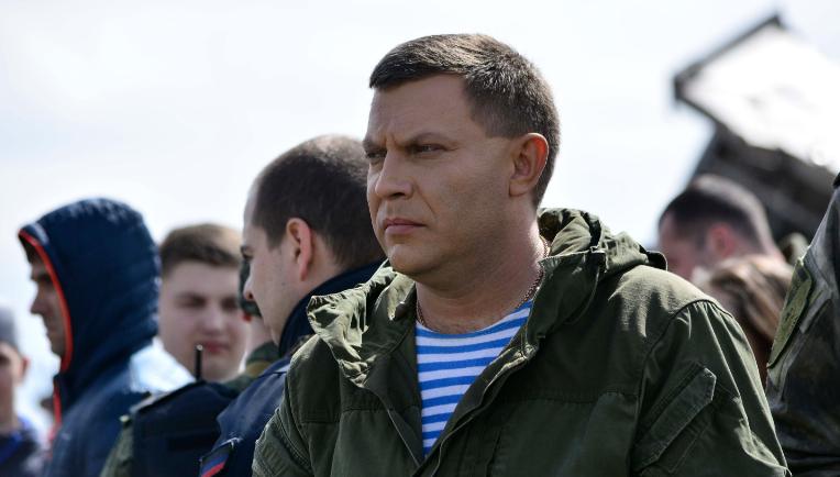 Захарченко назвал «оккупированными» Донецк и Амвросиевку, которые находятся под контролем «ДНР»