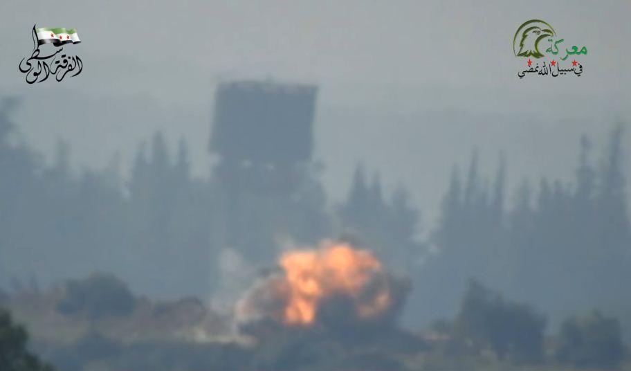 Повстанцы показали, как погибают российские военные в Сирии