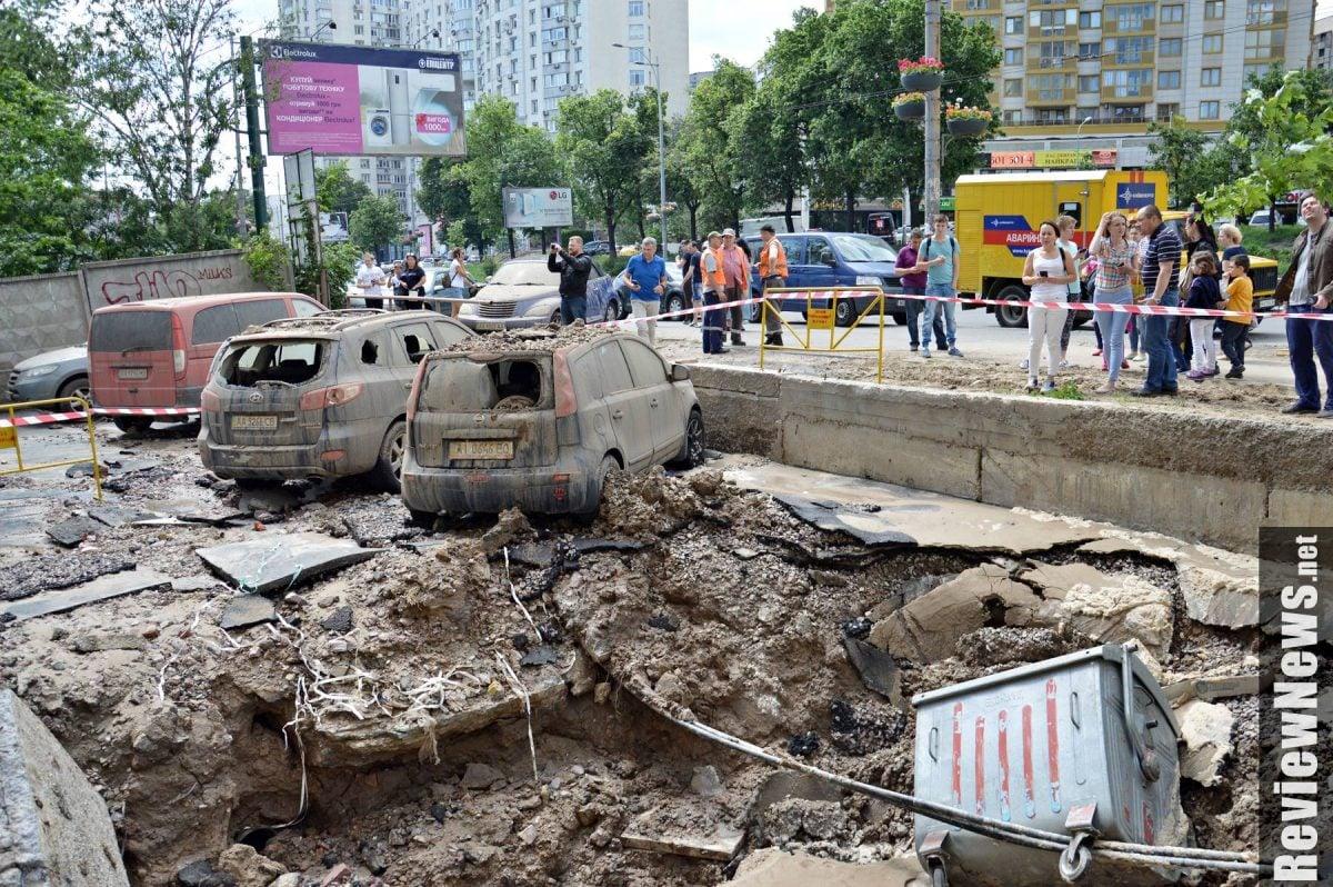 В Донецке снова слышны залпы орудий (ВИДЕО)