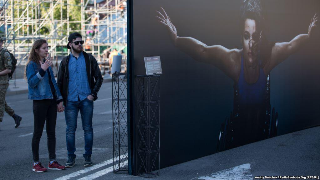На Майдане открыли фотовыставку «Победители»