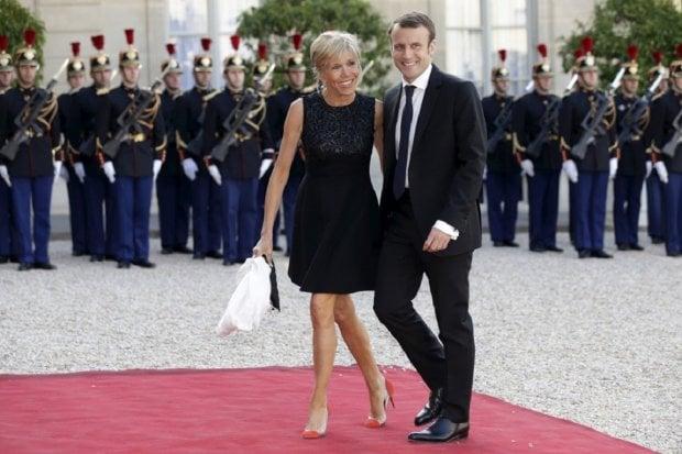 Кто она — первая леди Франции Бриджит Макрон