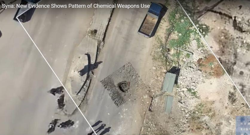 Доклад HRW: При химатаке в Сирии использовались бомбы с зарином советского производства