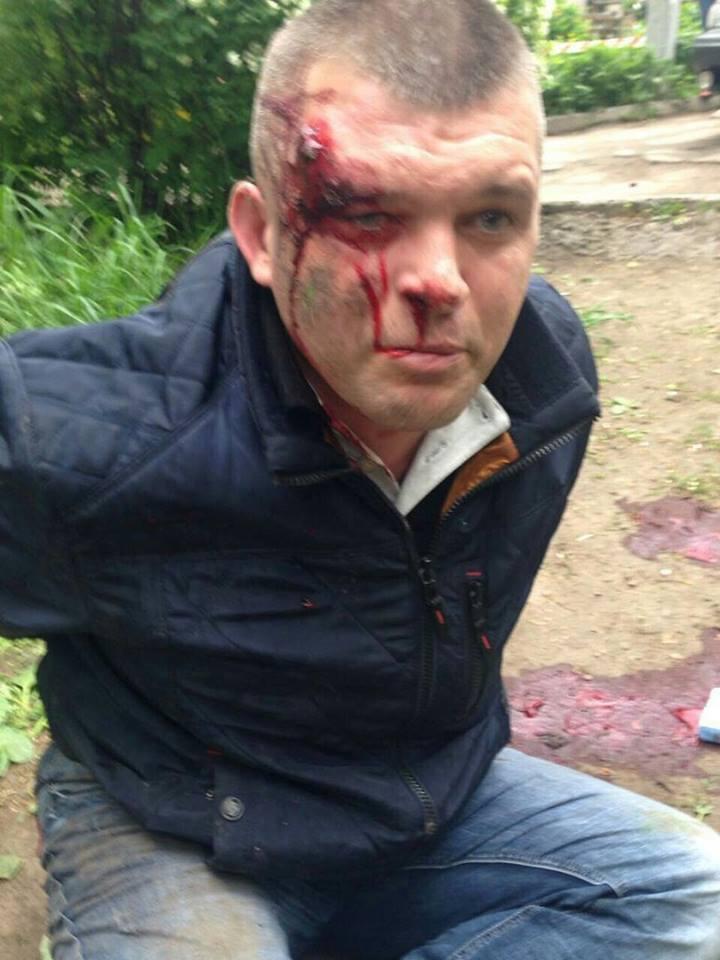 Видео со стрельбы в Каменском: один из нападающих оказался охранником Яроша