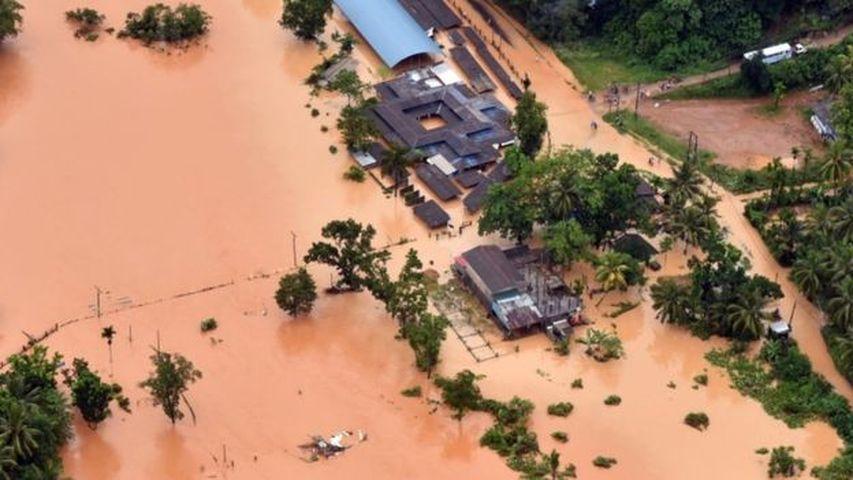 Крупнейшее за 14 лет наводнение в Шри-Ланке: 122 человека погибли (ВИДЕО)