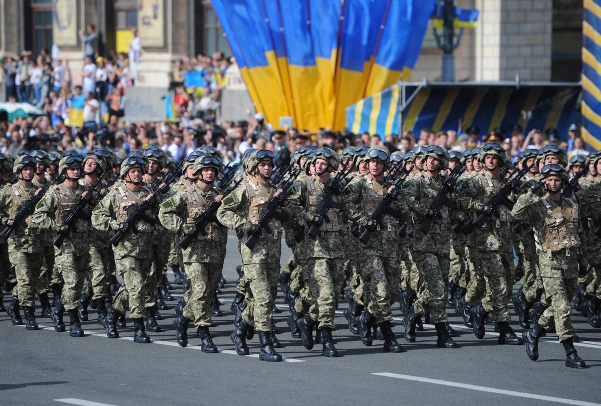 ВМинобороны Украины анонсировали появление вцентре украинской столицы иностранных батальонов
