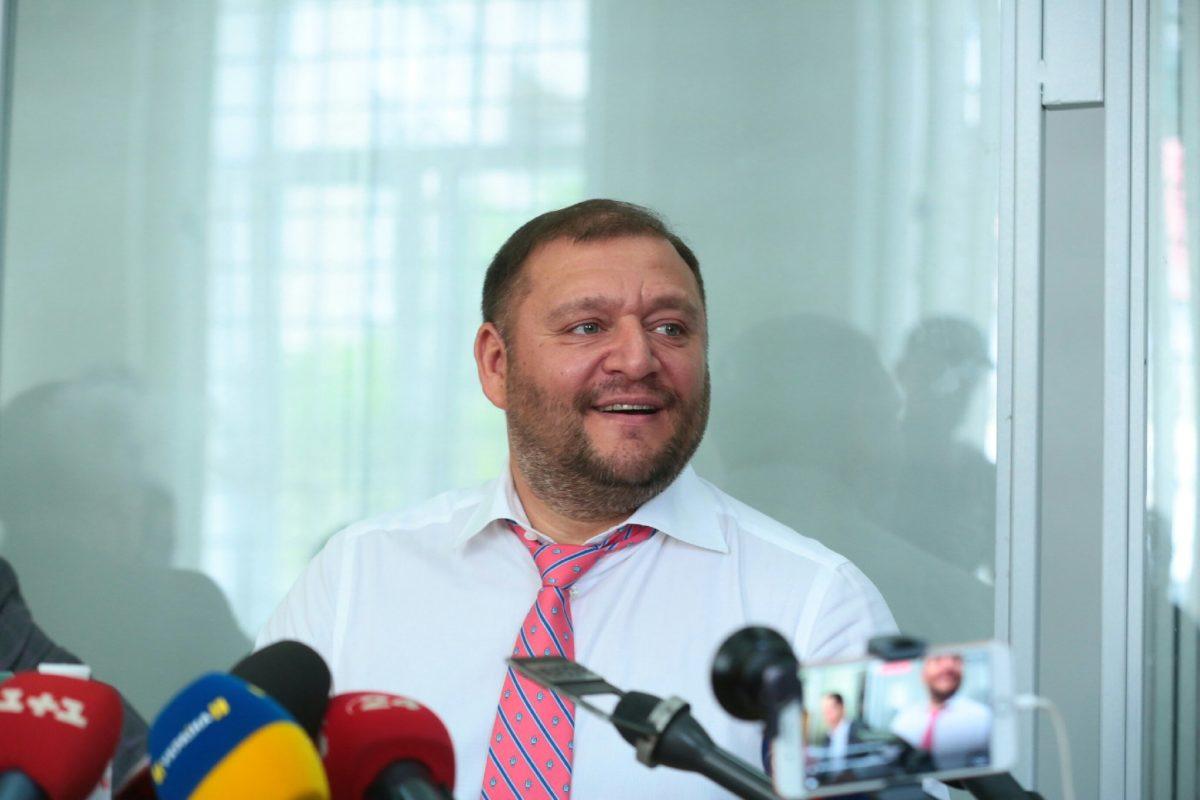 Началось совещание  Печерского суда поделу народного депутата  Добкина