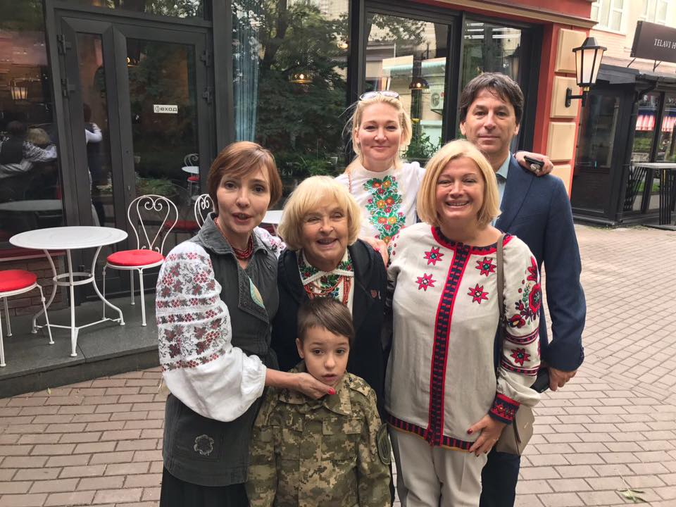 Ада Роговцева (актриса) биография, фото, муж, сын 2018