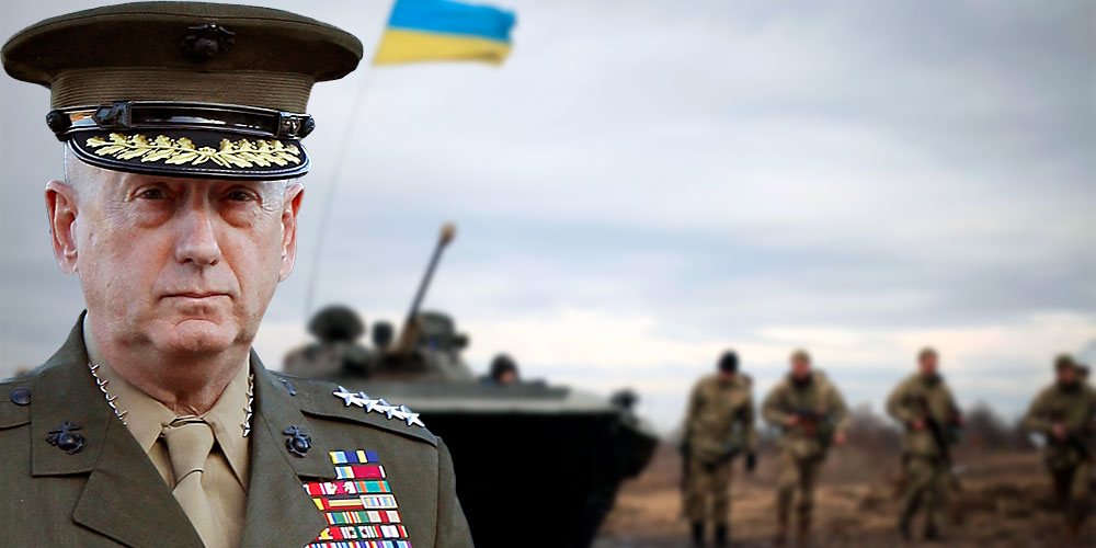 Военная реформа в Украине может быть самой эффективной. Все решения проверяются боевыми действиями, - Мэттис на переговорах с Полтораком - Цензор.НЕТ 5000