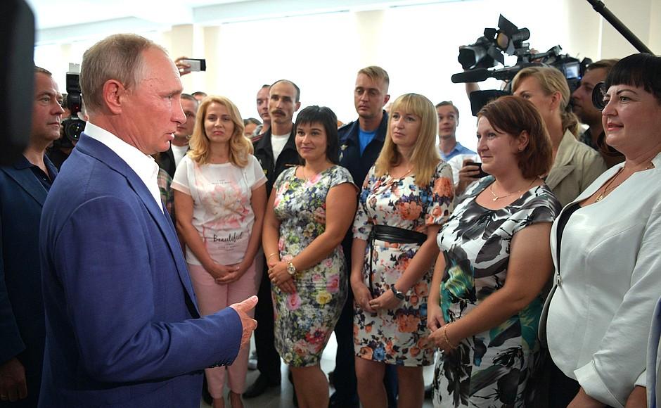 Путин прибыл ваннексированный Россией Крым с«рабочим визитом»
