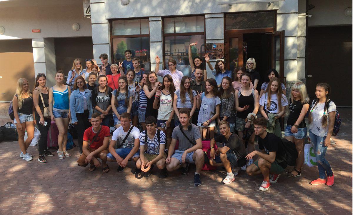 Школьники Украины едут на форум в Россию