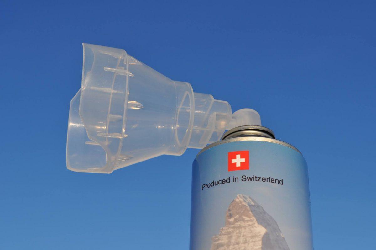 Швейцарский воздух стали торговать заграницу