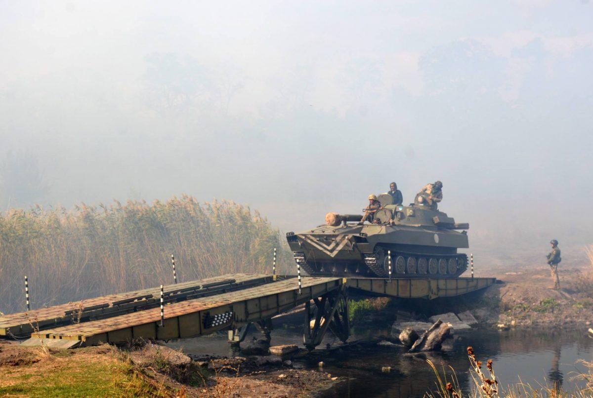 Ситуация вАТО обострилась: есть раненый среди украинских военных