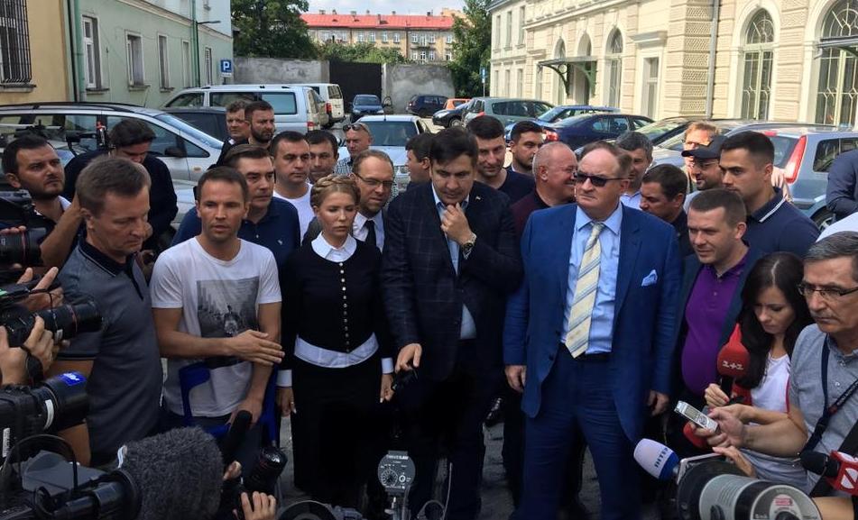 Саакашвили Тимошенко