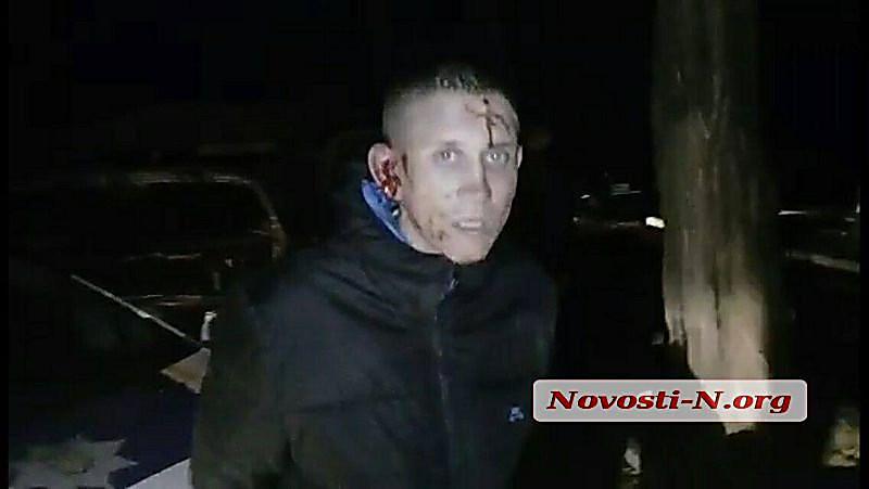 Утром николаевские полицейские спогоней истрельбой задержали нетрезвую компанию