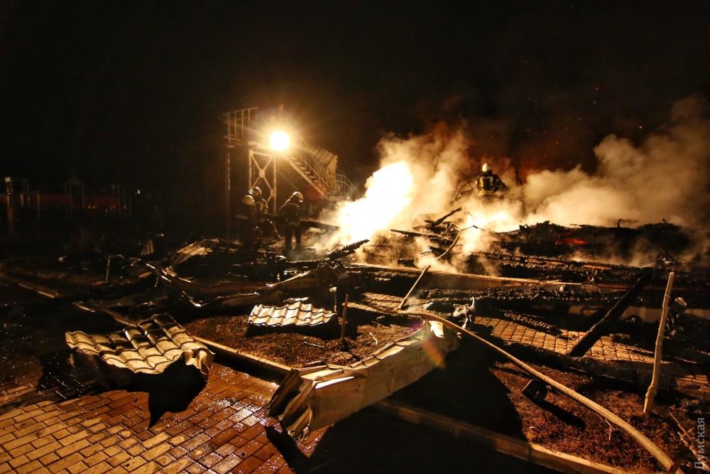 Стали известны причины пожара вдетском лагере «Виктория»