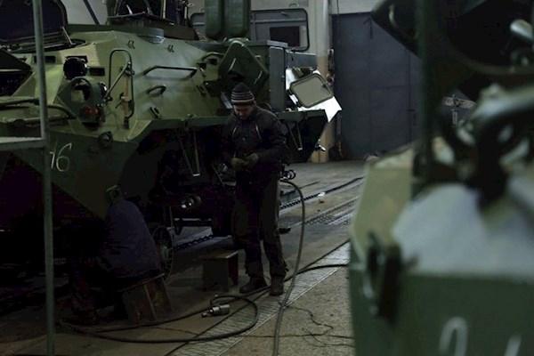 Киевский завод подозревают виспользовании низкокачественной стали для БТР