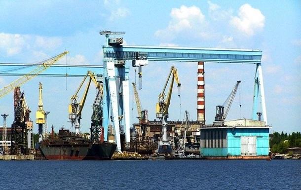 «Укроборонпром» объяснил, почему парализована работа «Николаевского судостроительного завода»