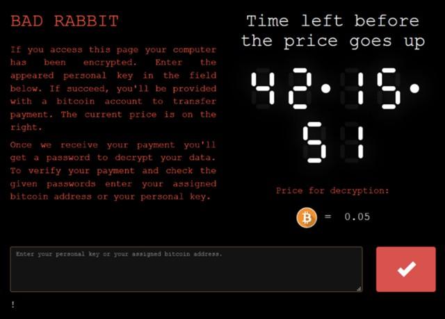 Как защититься отвируса Bad Rabbit