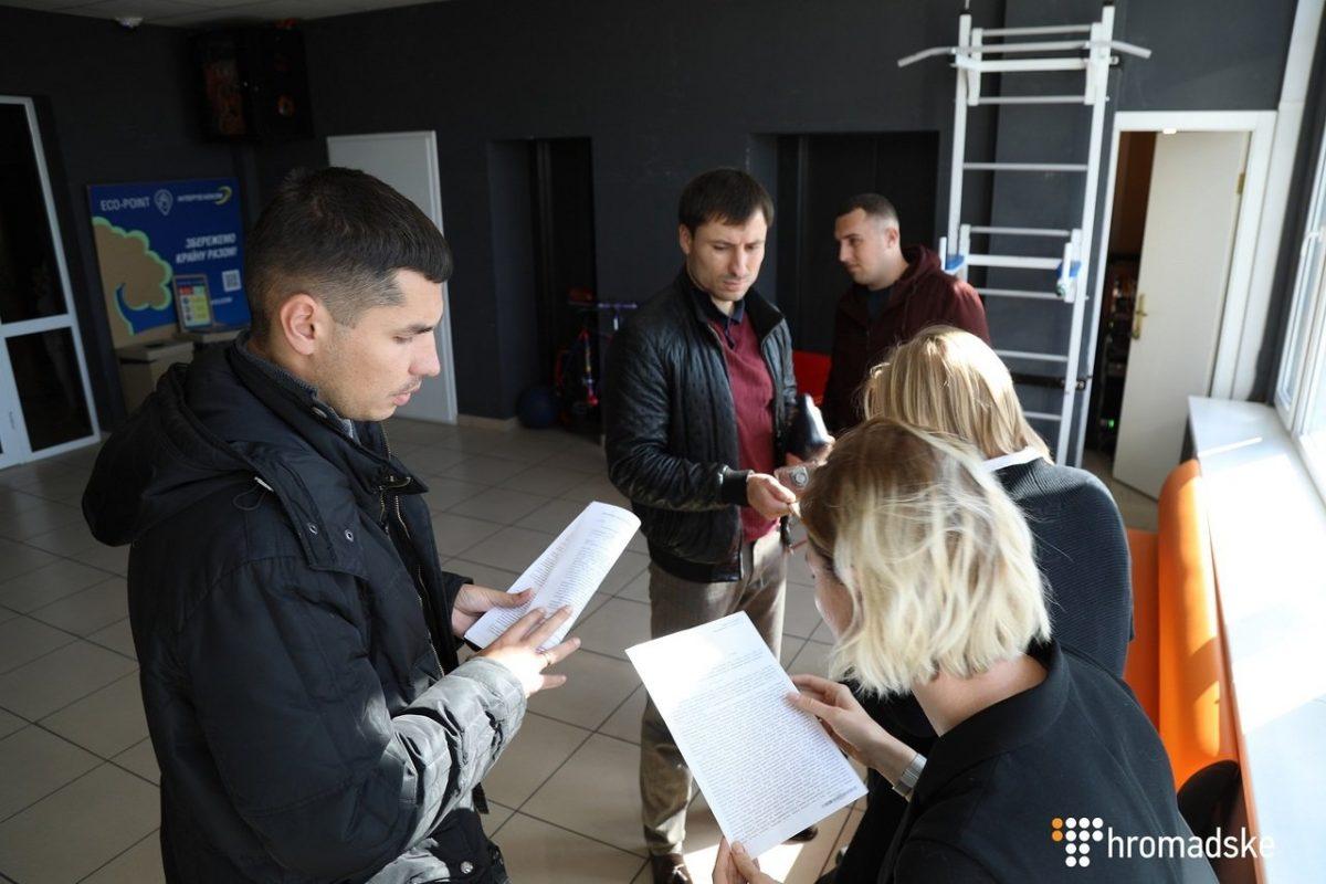 «Прорыв Саакашвили»: милиция требует доступ кматериалам «ОбщественногоТВ»