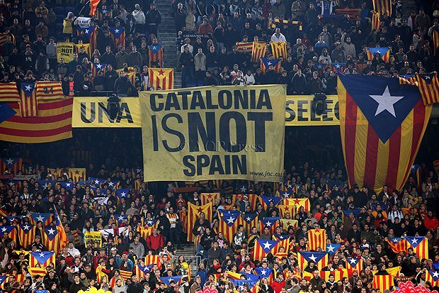 Футбольный клуб «Барселона» присоединился к совместной  забастовке вКаталонии