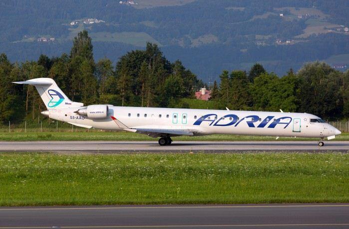 Перевозчик Adria Airways вернулся в государство Украину