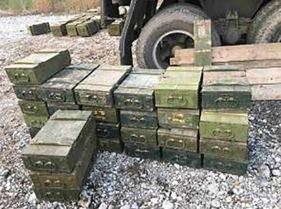 НПУ: вДнепропетровской области найден полный гранат КаМАЗ