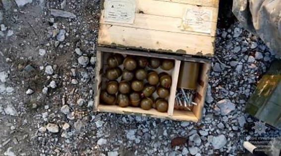 ВДнепропетровской области найден КАМаз, переполненный боевыми гранатами