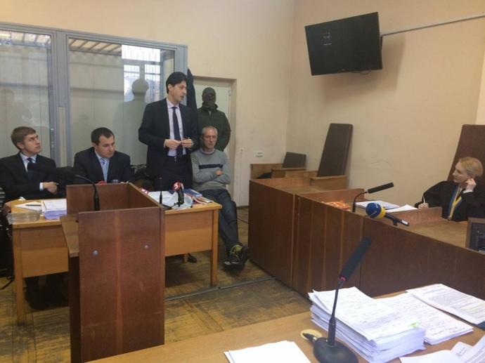 Украинский суд отпустил под честное слово фигуранта дела окоррупции вМинобороны